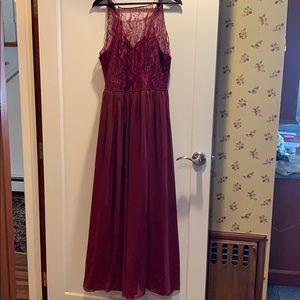 Bergundy Formal Dress
